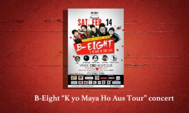 B-Eight (K yo maya ho) Tour
