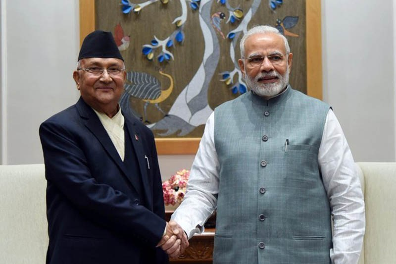 प्रधानमन्त्री ओलीद्वारा समकक्षी मोदीलाई नेपाल भ्रमणको निम्तो «       Pariwartan Khabar