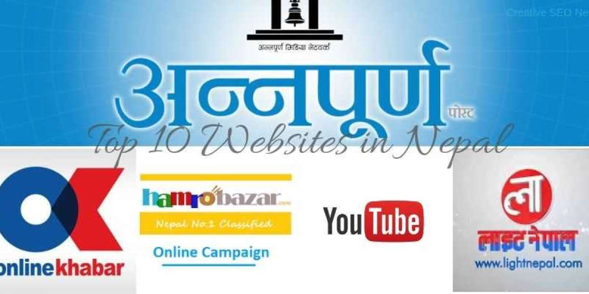 Top 10 websites in Nepal