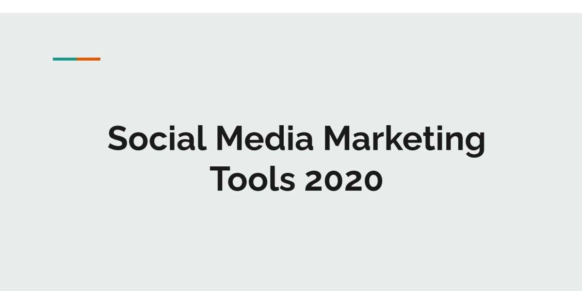 Social Media Marketing tools for 2020