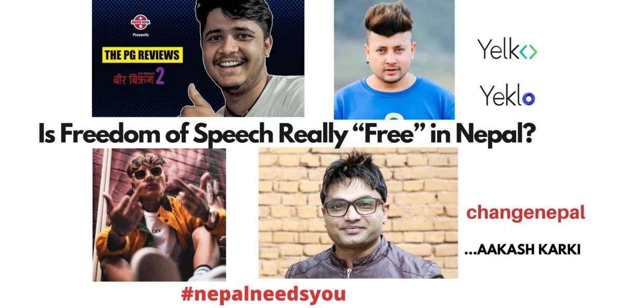 "Is Freedom of Speech Really ""Free"" in Nepal? #nepalneedsyou"