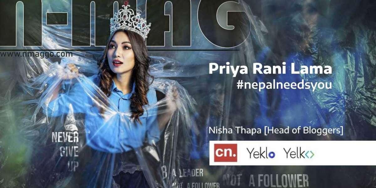 Yeklo interacts with Passionate Priya Rani Lama: #nepalneedsyou