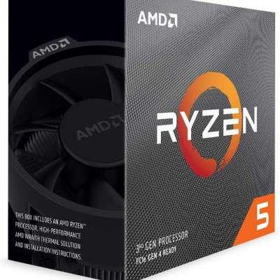 AMD RYZEN 5 3600 6-Core 3.6 GHz (4.2 GHz Max Boost) Socket AM4 65W 100-100000031BOX Desktop Processo Profile Picture