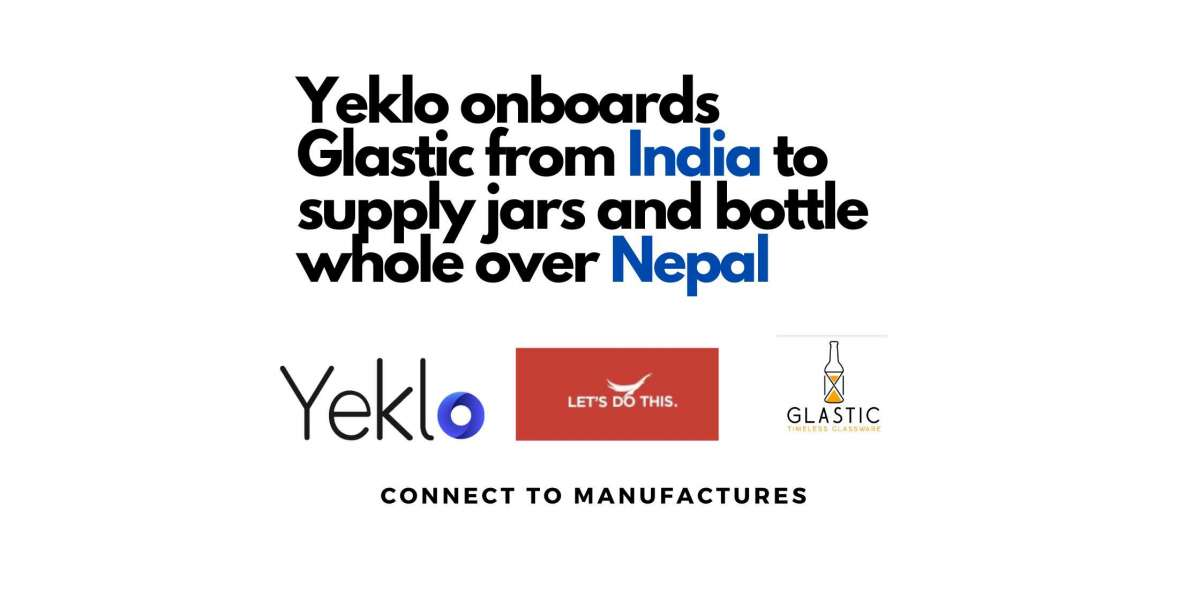 Yeklo onboards Glastic from India to supply jars and bottle whole over Nepal