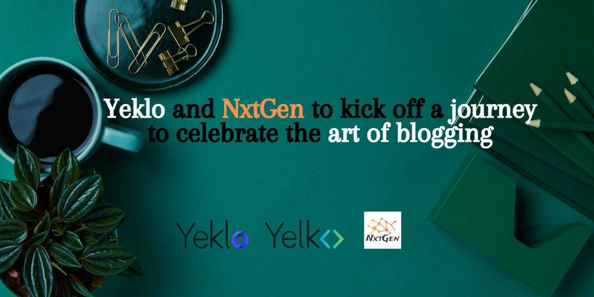 Yeklo and NxtGen to start a journey to celebrate the art of blogging
