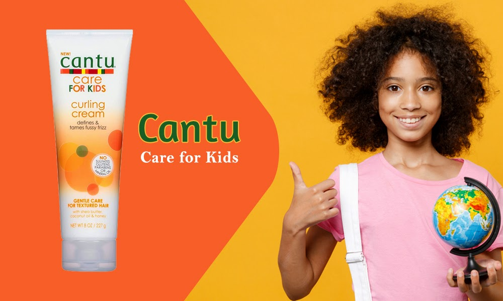 Should You Use Cantu Kids Curling Cream? - Hair Care And Beauty Tips Blog